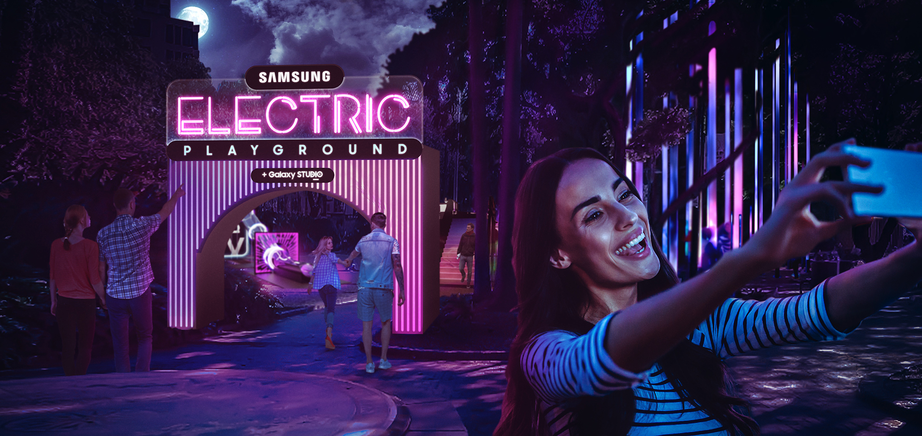 Technology giant Samsung goes experiential at Vivid Sydney