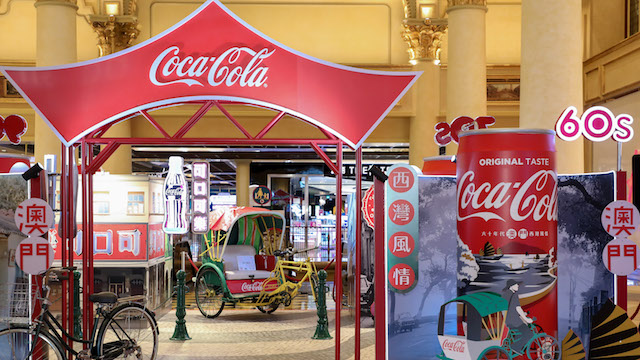 Coca-Cola's personalised and interactive campaign