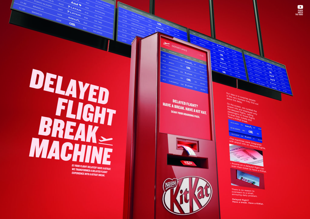 Kit Kat's Brand Activation Engages Travelers