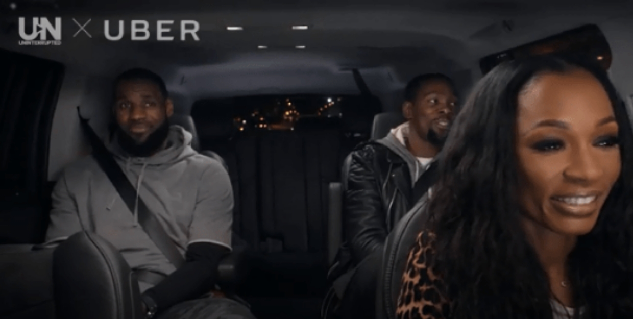 How an Uber campaign inspired a documentary on LeBron James
